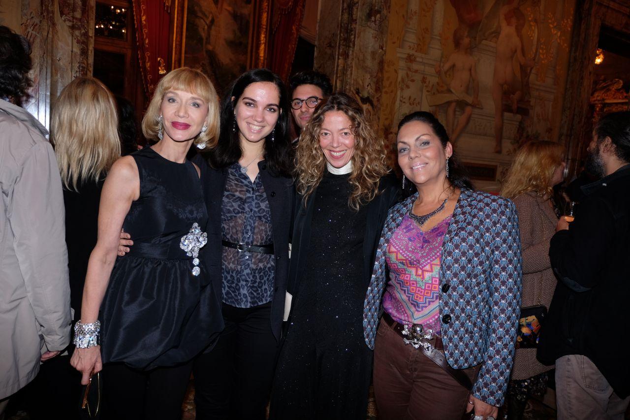 Karina, Nathalie Ziegler et Hermine de Clermont Tonnerre