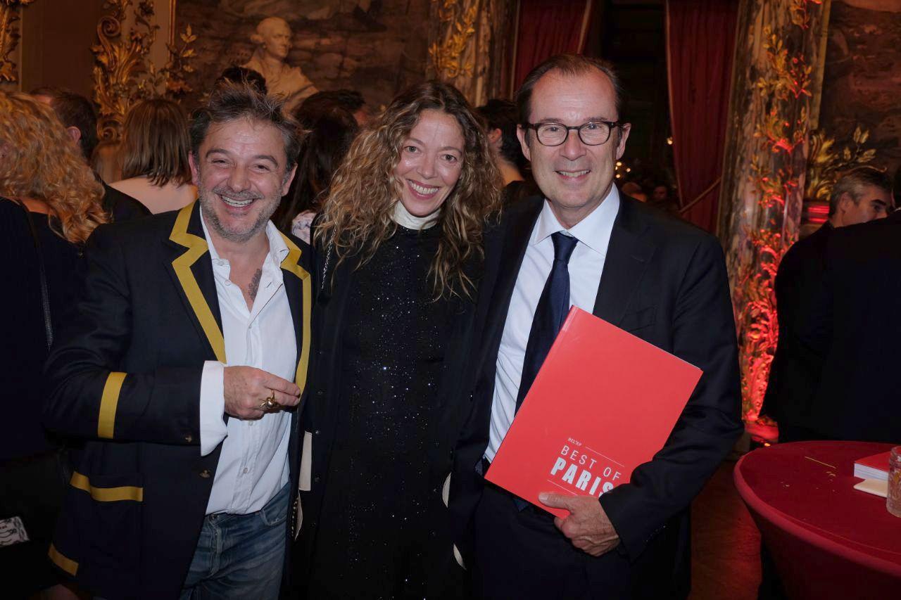 Aurele, Nathalie Ziegler et Christian Mantei