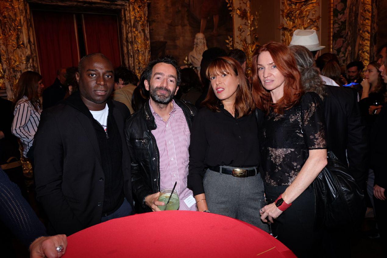 Thomas, Benoît, Servane et Céline