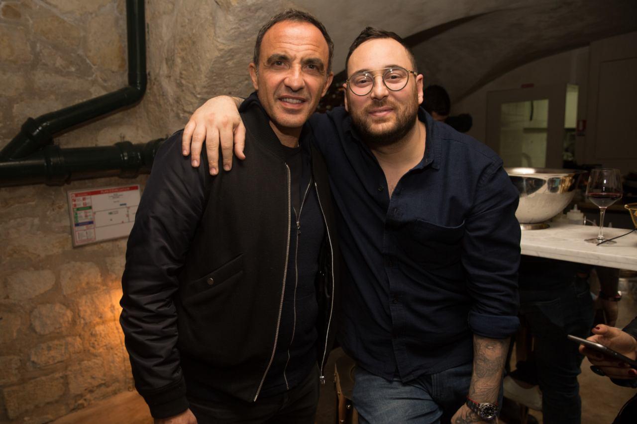 Nikos Aliagas et Audren Dimitris (dr Ikone)