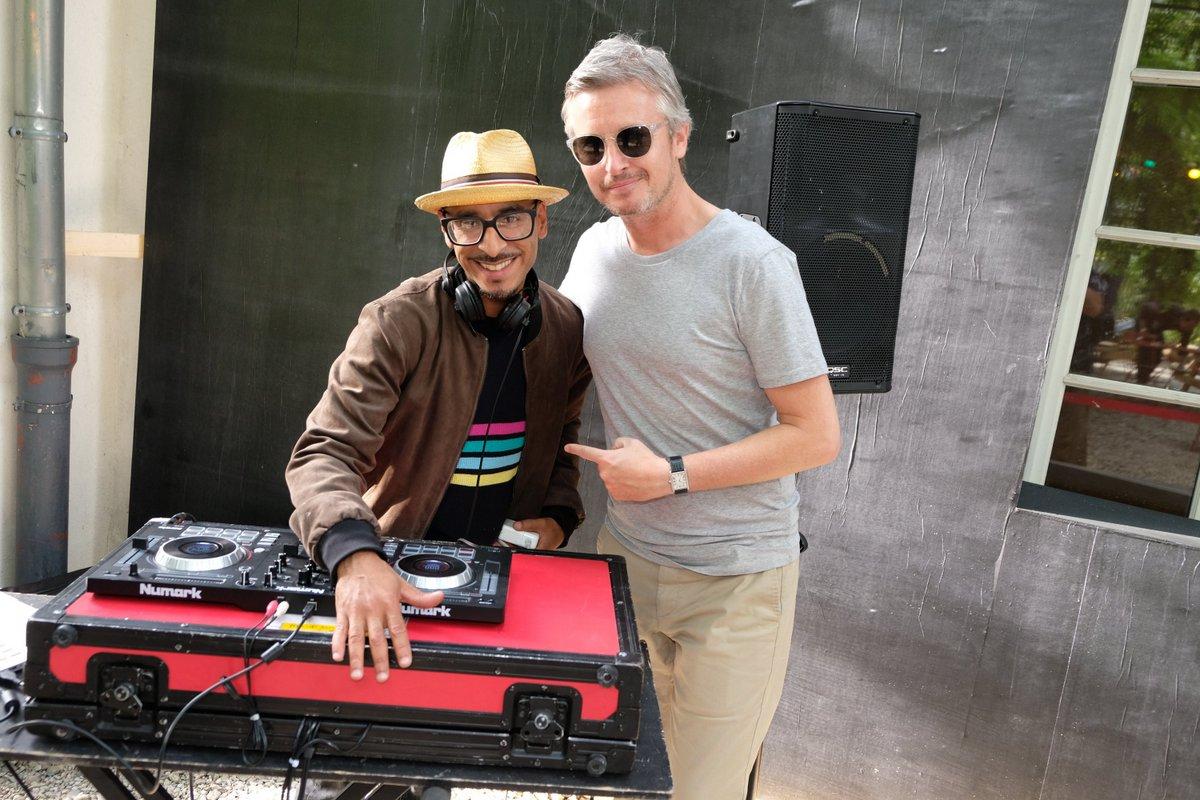 DJ Mangu et Emmanuel Duverrieres