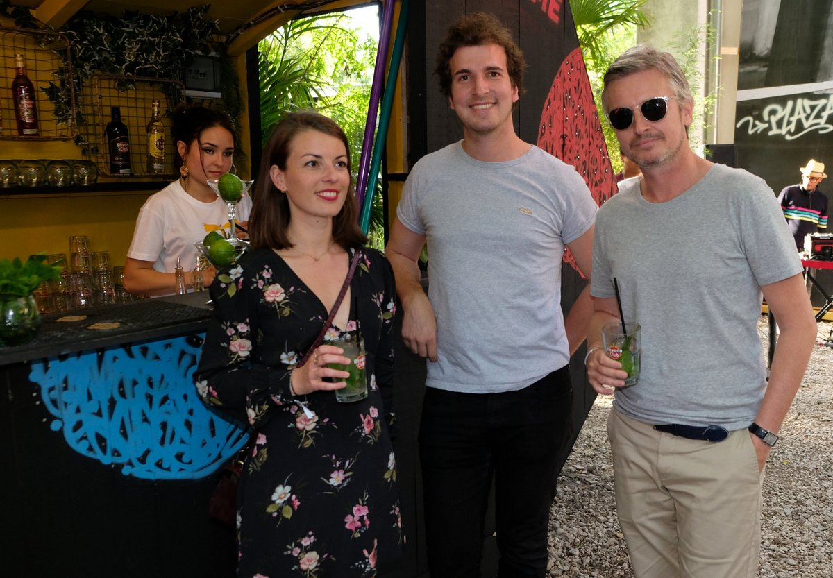 Sarah, Arnaud  et Emmanuel de Pernod