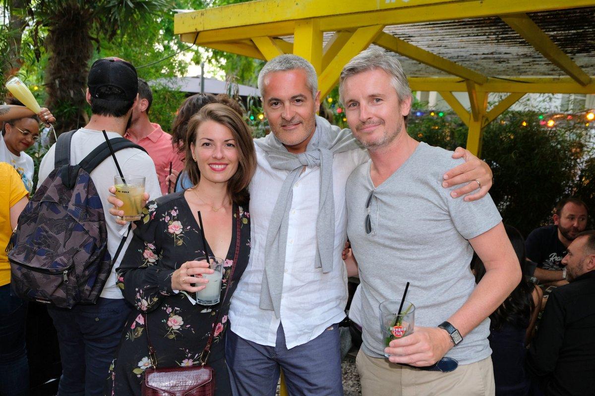 la Team Havana  : Sarah Nicolas, Richard Le Moult et Emmanuel Duverrières