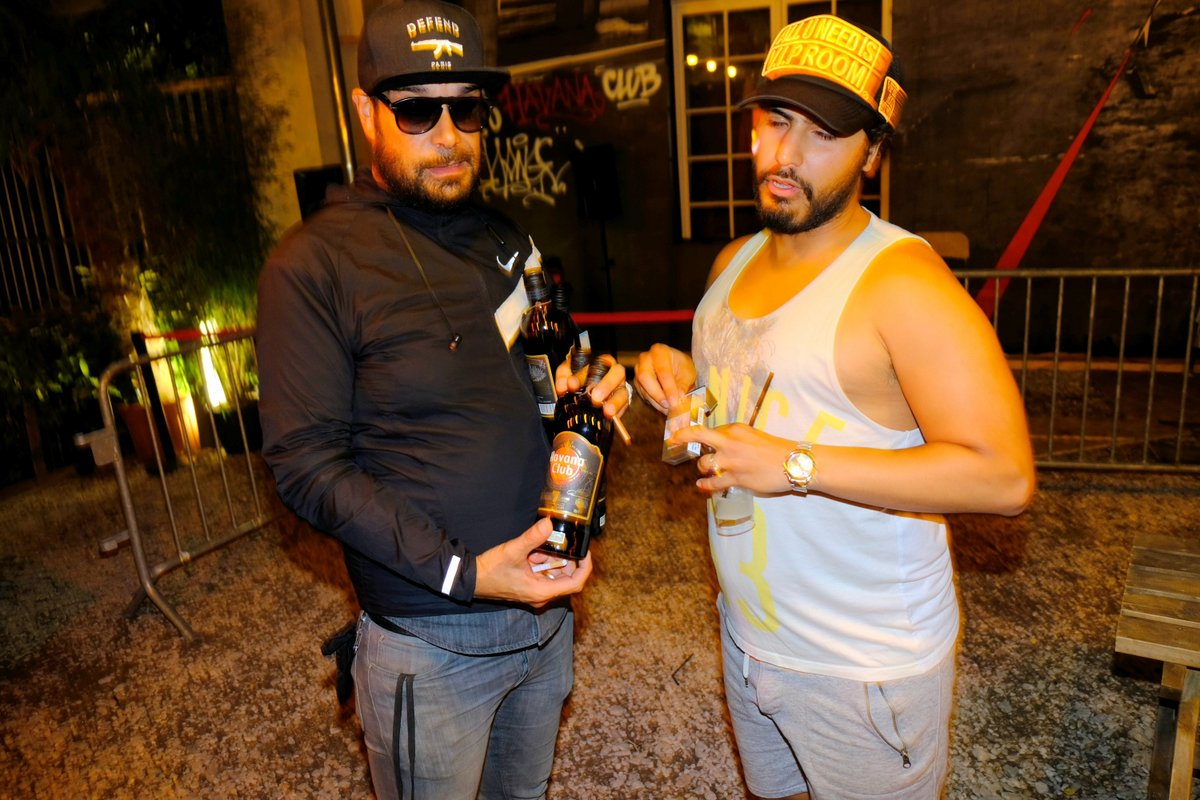 Don Guiseppe et un ami, Havana mode noche