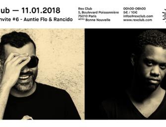 J – 3 «Solstice invite… AUNTIE FLO et RANDICO» au Rex Club
