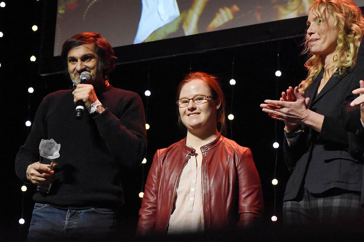 Real Christophe Campos actrices Marie Dal Zottto et Carole Richert Best fiction pour Mention Particuliere