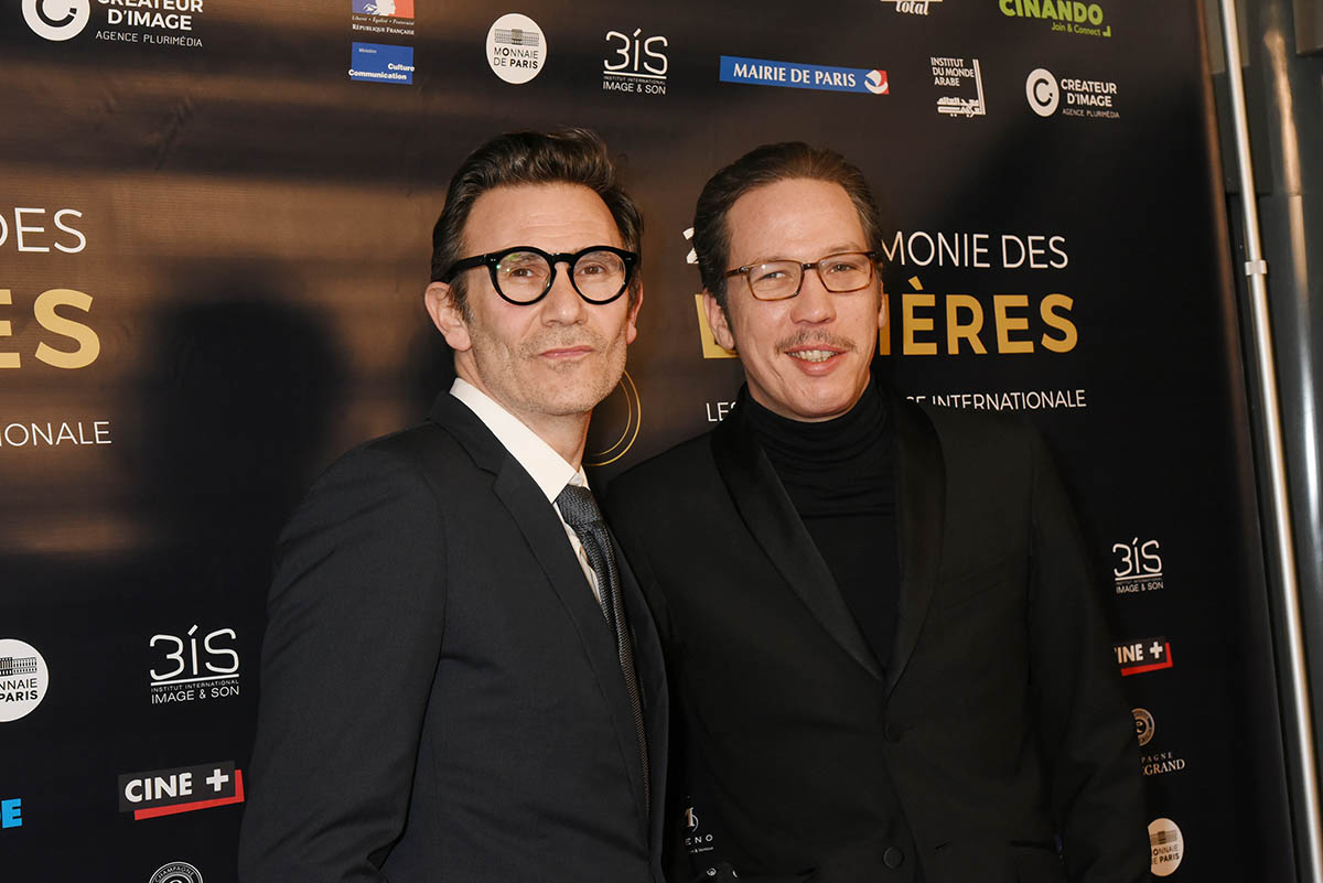 Michel Hazanavicius et Reda Kateb soit OSS117 contre Django