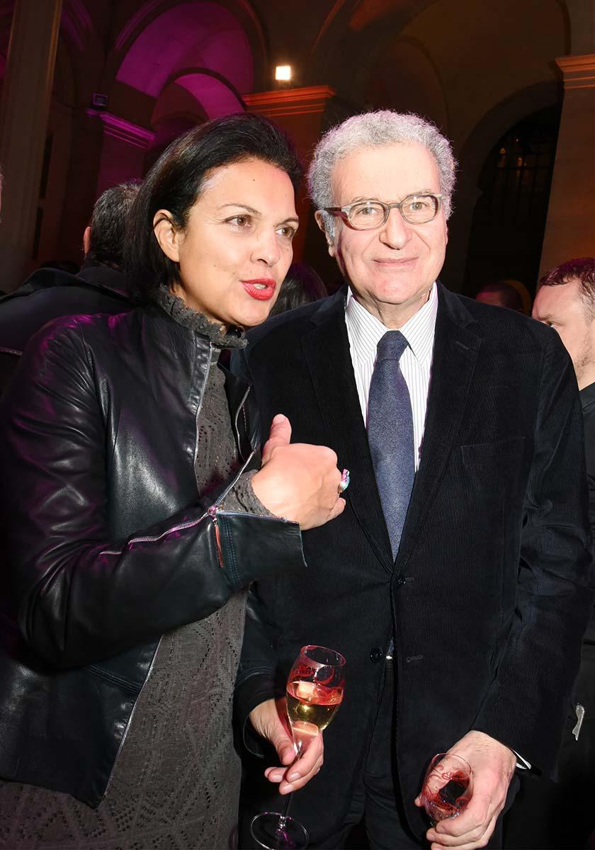Chez Unifrance Isabelle Giordano Mme Cinema et Serge Toubiana Mr Cinematheque