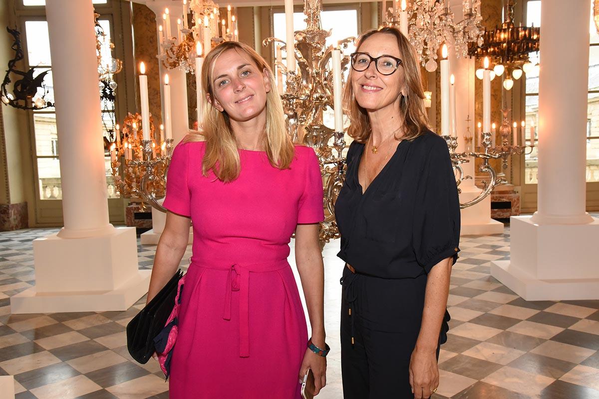 Elodie Rouge et Sophie de Santis du Figaroscope ca fait des lustres que je ne les ai pas revues