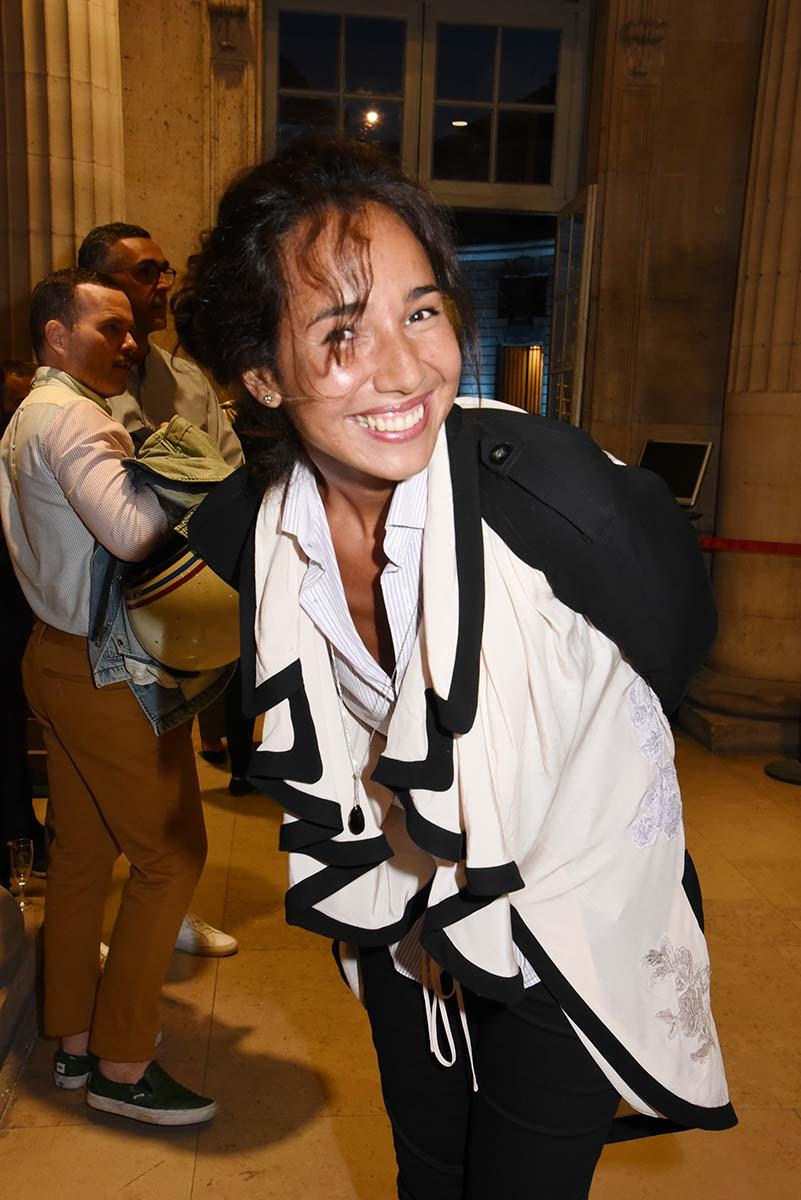 Folle D Art Deco Farrah Bencheikh a mis sa plus belle camisole