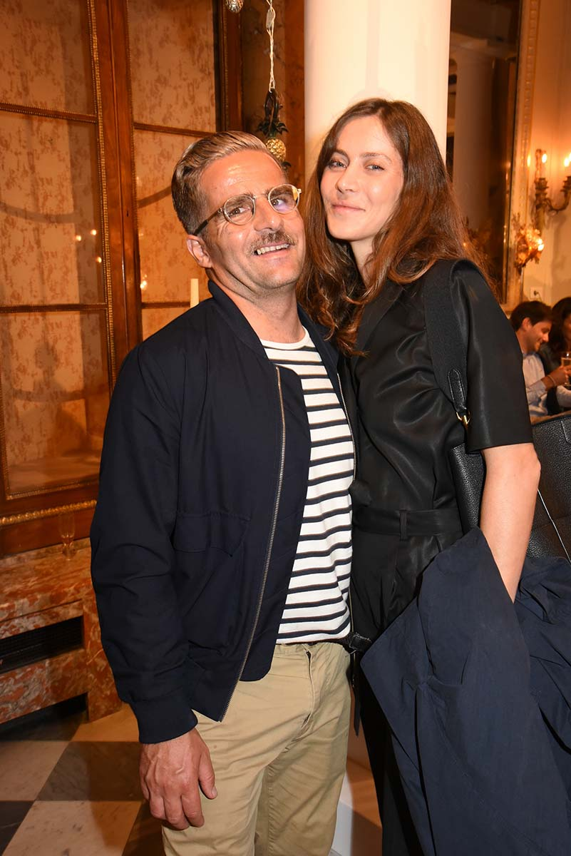 Yorgo Tloupas et Marie Camille Denjean adorent cette Vanity foire