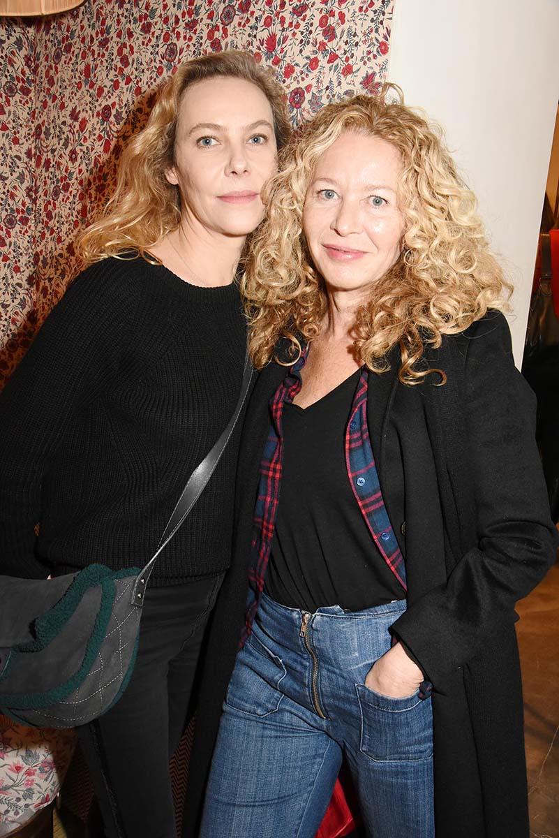 Anne Colombe de la taille et Kathy Wolff irreductible Carre blonde