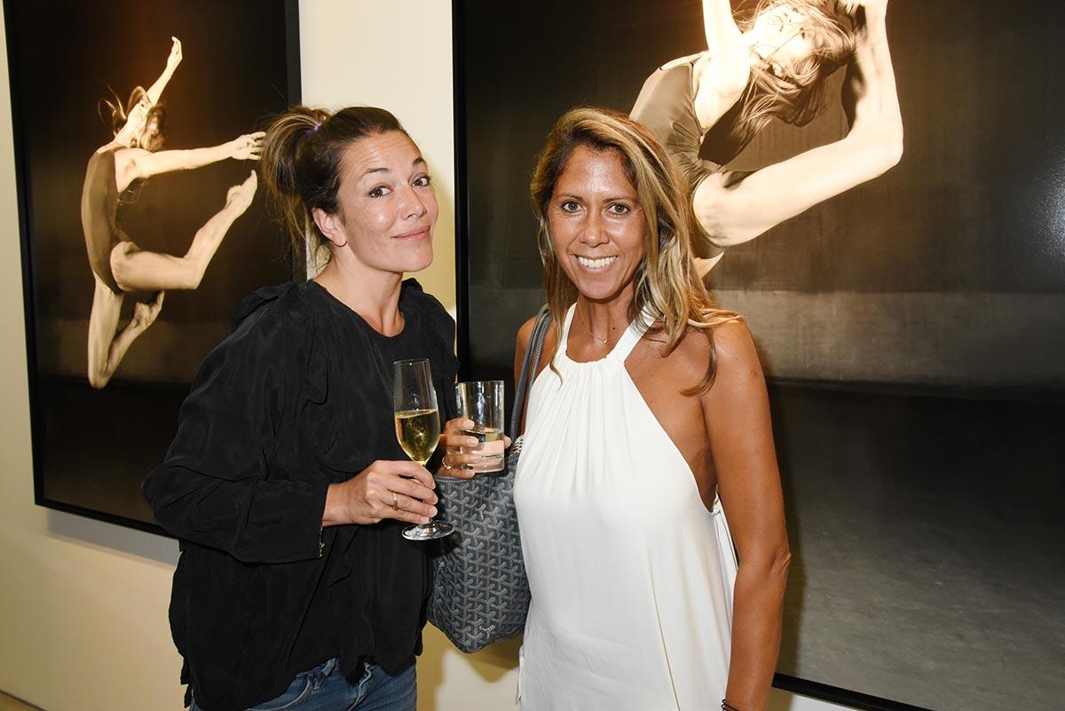 Audrey Tinthoin et Rachel Bourlier ont fait leurs entrechattes aux petites rattes de L Operatte