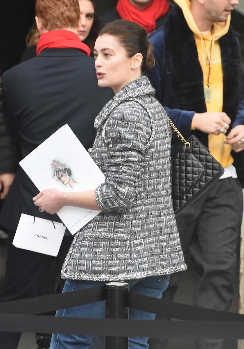 Aurelie Dupont sans tutu ni chausson mais avec Chany bag