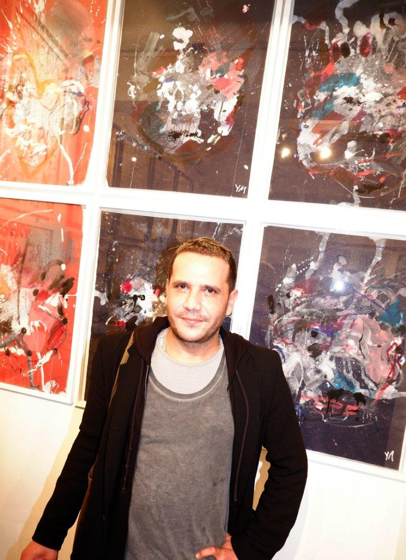 Yassine Mecknache et ses portraits fantasmagoriques