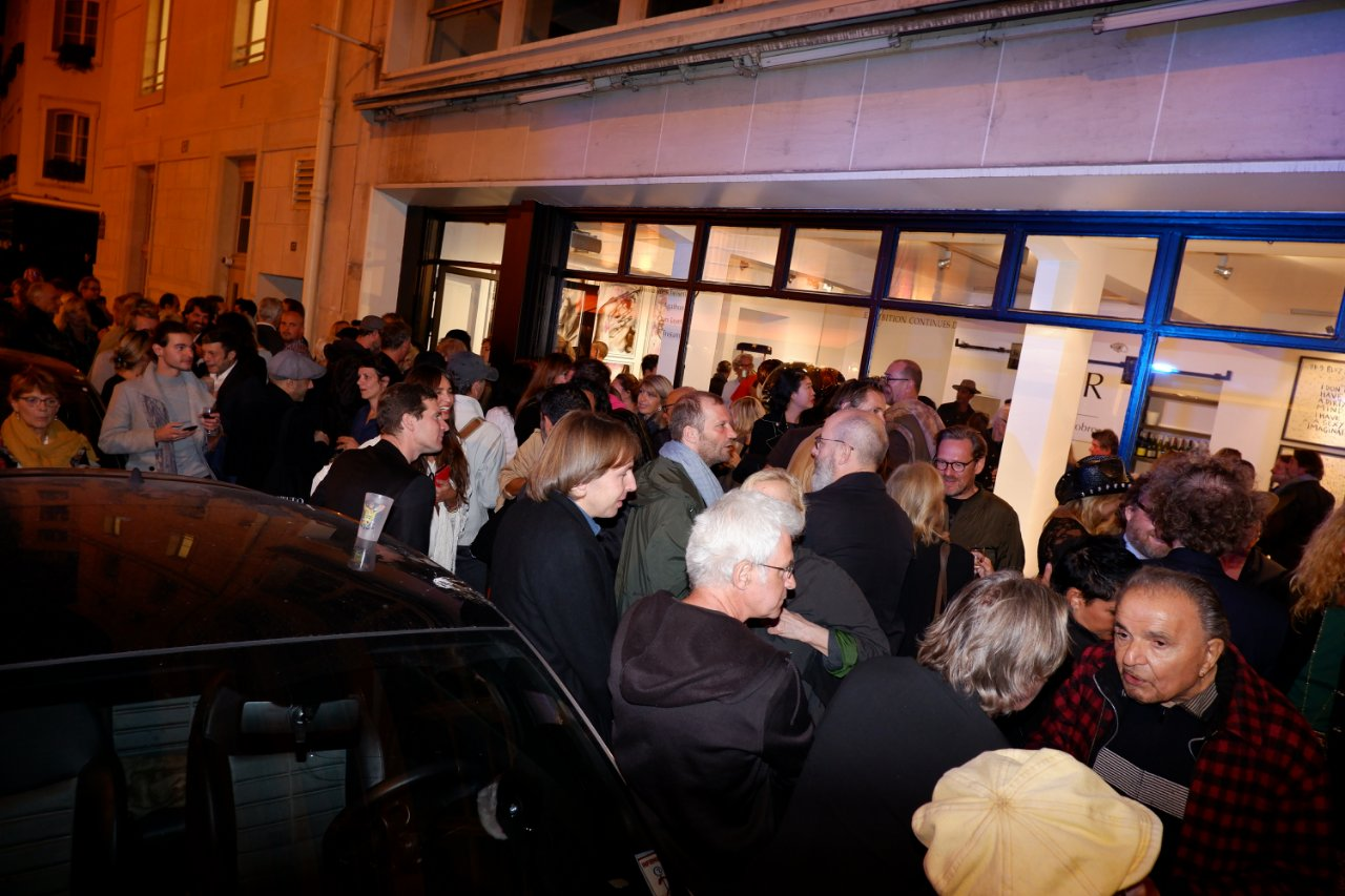 La rue St Benoit est full