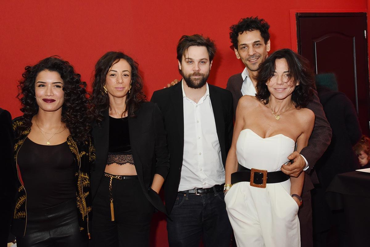 Voila le Jury people avec Sabrina Ouazani Janane Boudili Arthur Jugnot et les Sisley
