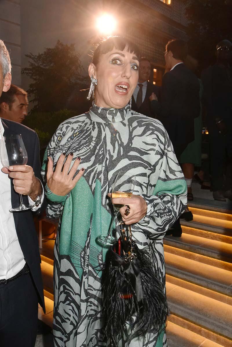 Rossy de Palma en mode Zebra