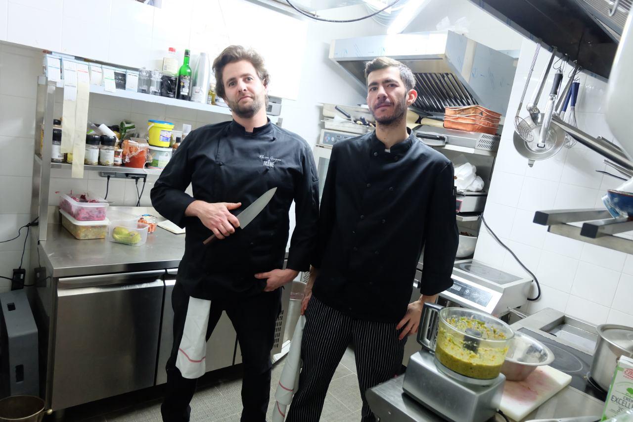 Le chef est Corse son second est Grèce : fusion en cuisine