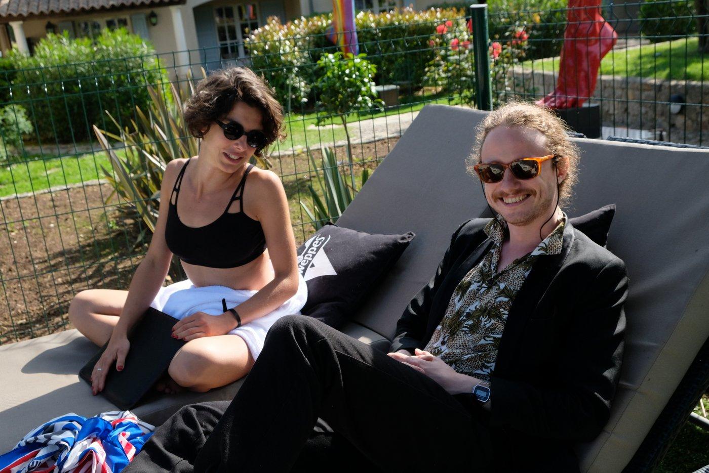 Thomas Smith en mode Cannes
