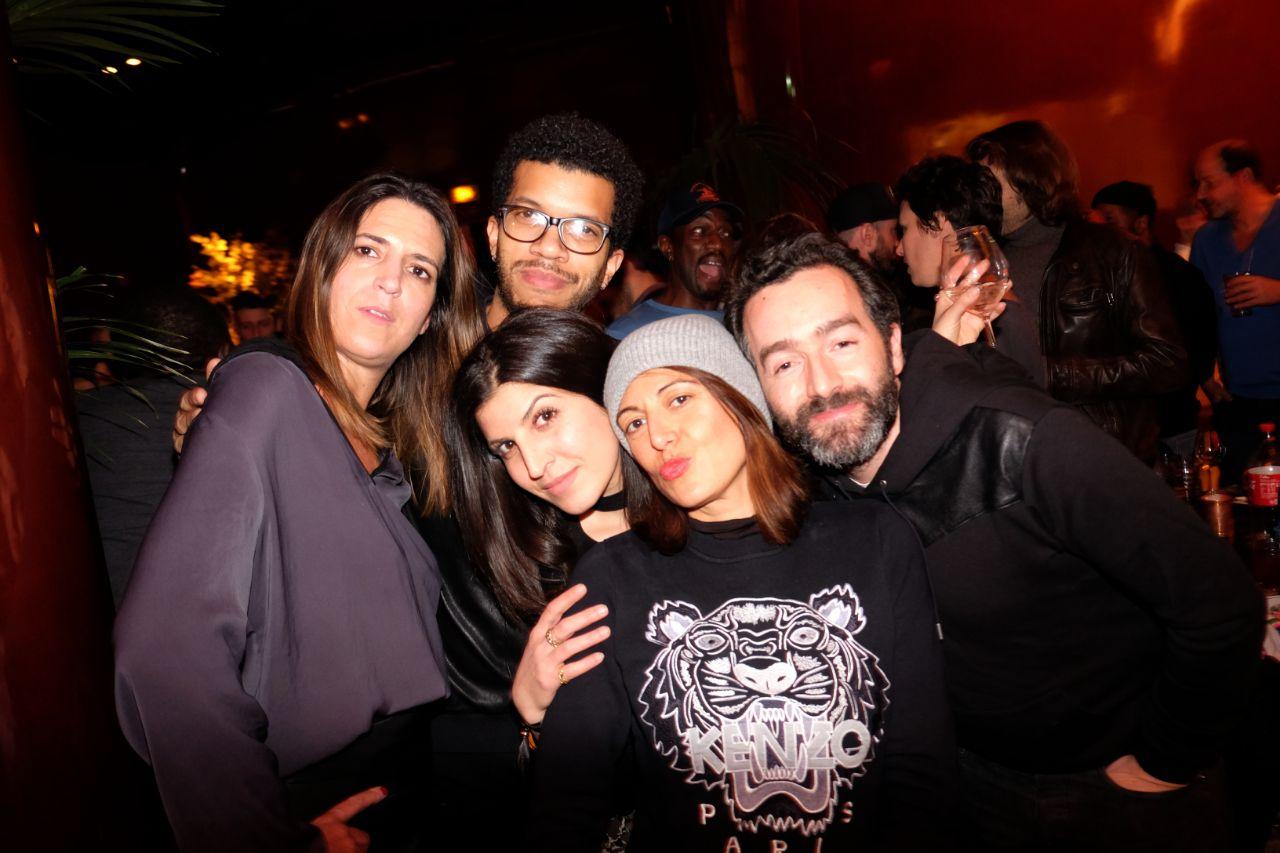 Jennifer, Servane, Benoît and friends