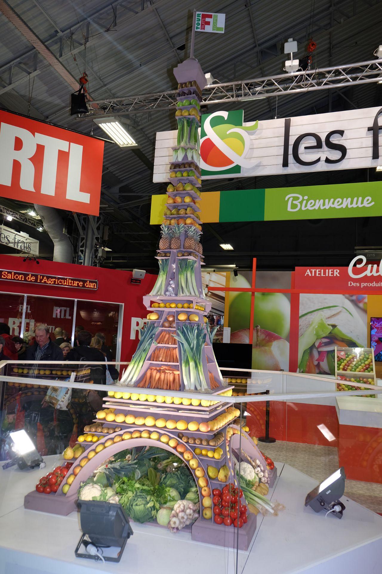 La tour F.L de fruits et legumes. Sans moderation