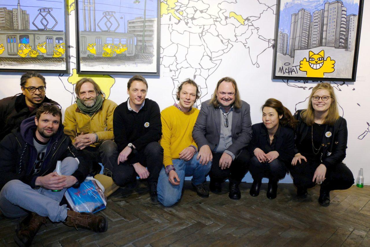 Le team Brugier-Rigail avec M Chat