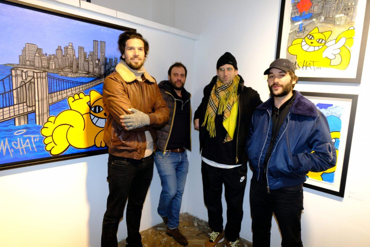Alex Jonette et Max Passadore avec Julien Verry