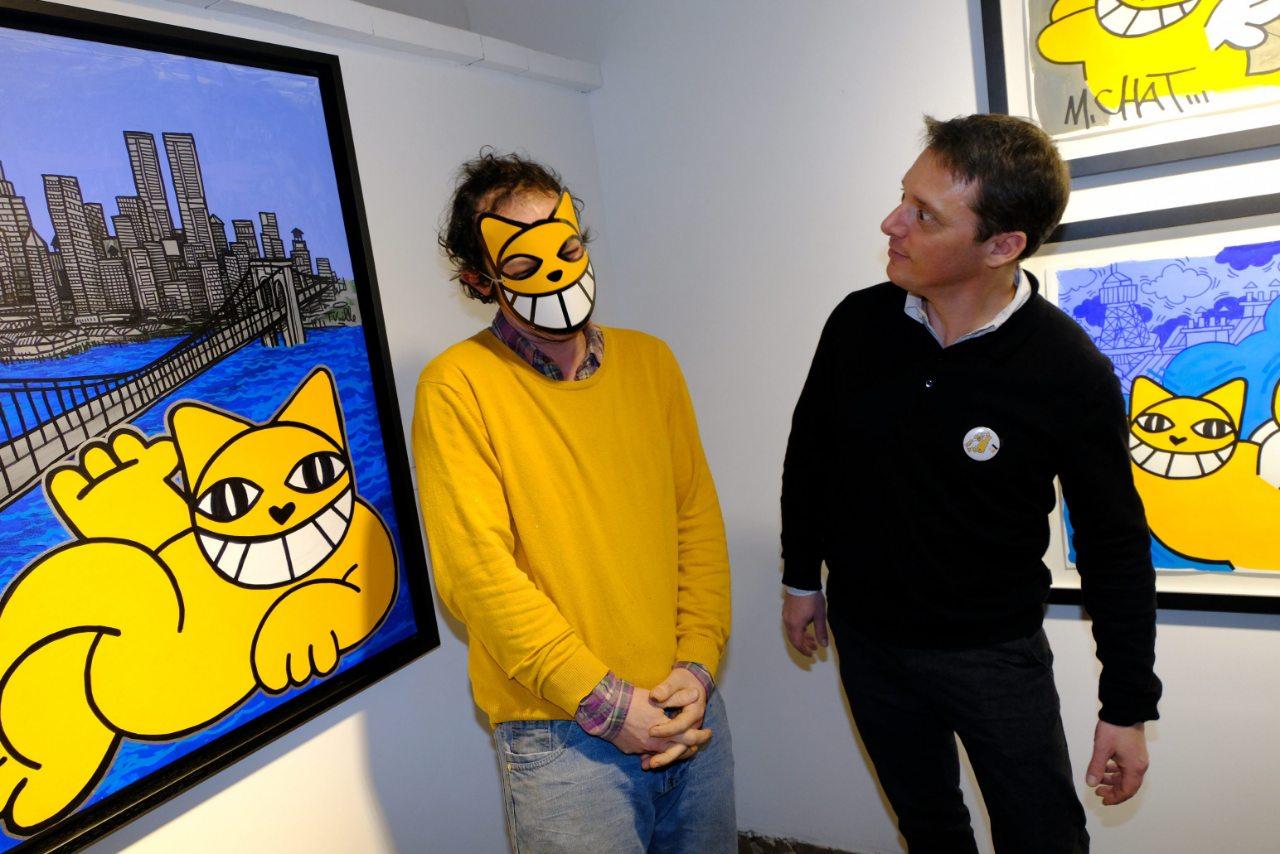 M Chat et Laurent