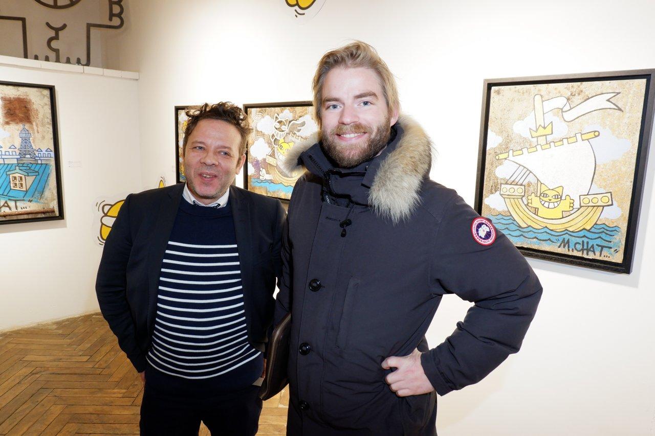 Jean Yves et un ami