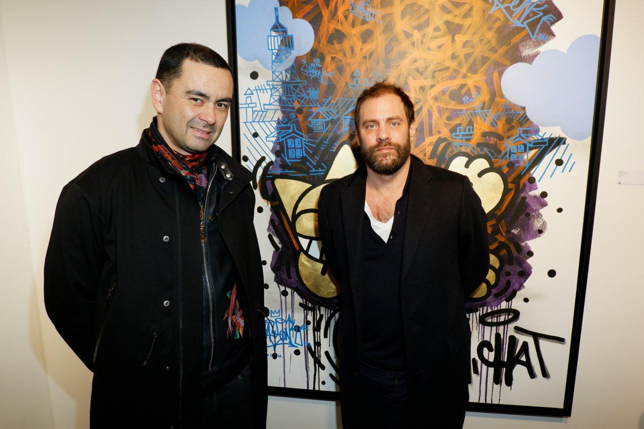 Olivier du magazine Dedicate et Julien Verry