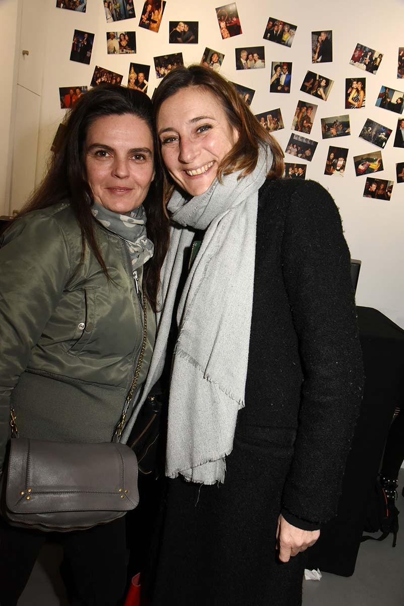 Anne Boucher et Florence Digne ex top model qui venait jadis guincher avec Christian Lacroix