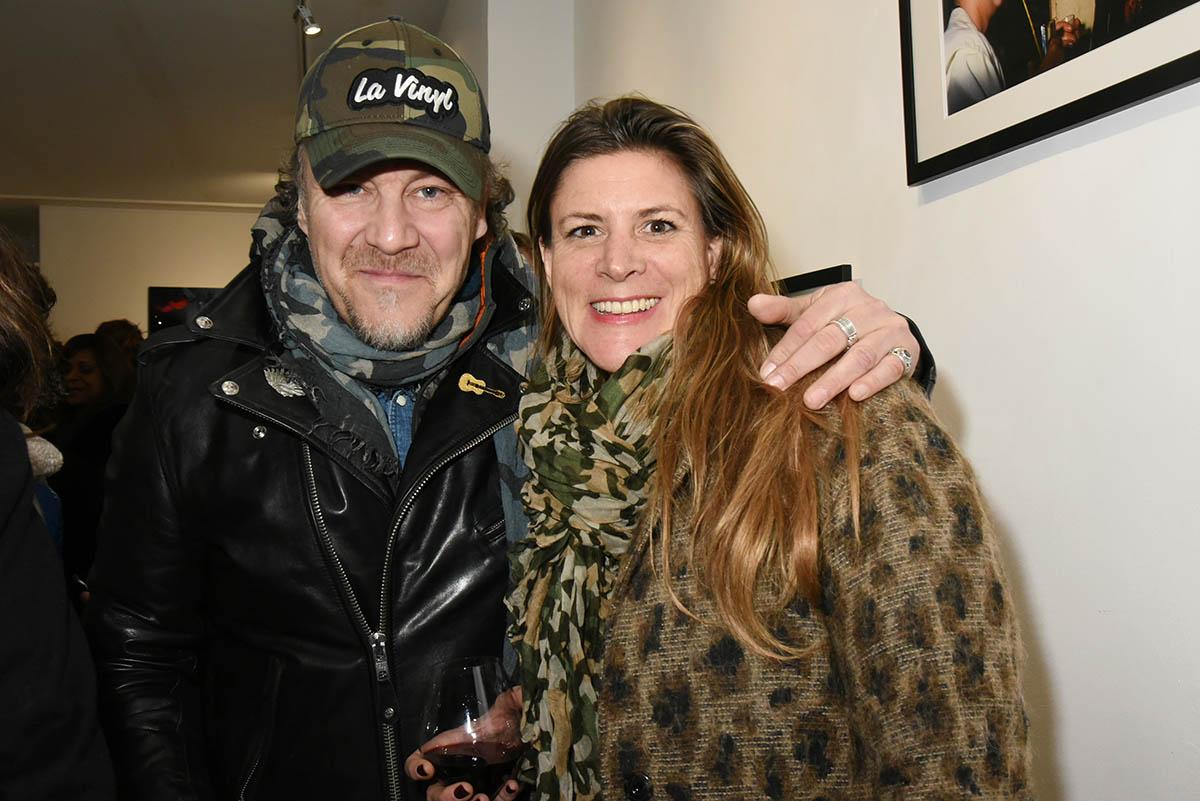 Gilles Le Bihan avec Latitia Chatillon ont bien connu les soirees ou L On scratchait des vinyles