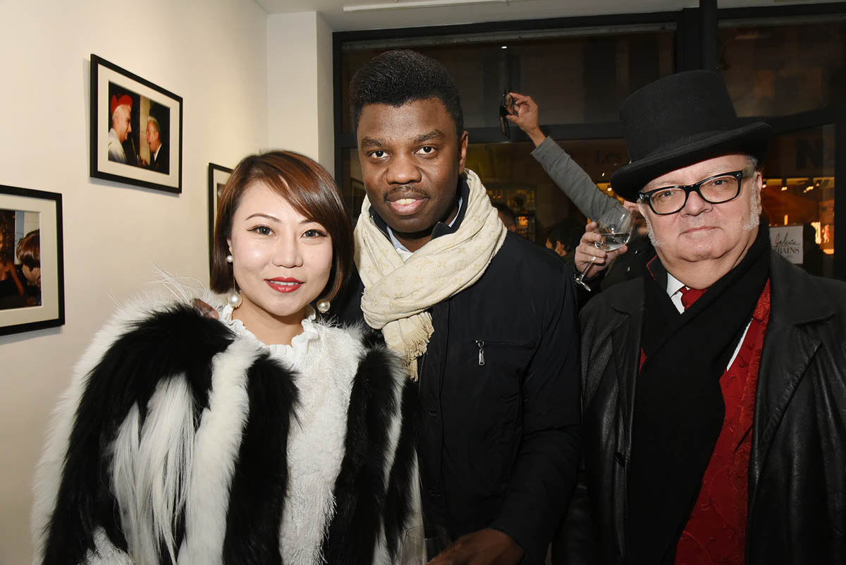 Mandy Ophelie Zhang JB Bokassa et Louis Arnaud Chevallier Benettonnent un max