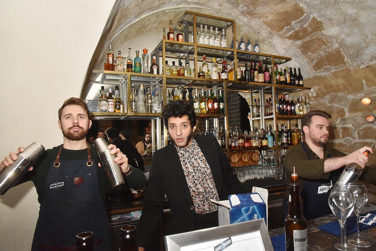 Grand Merssi A L equipe du Serpent A plume qui nous a concocte d hyper cocktail au cognac et A la viperine light