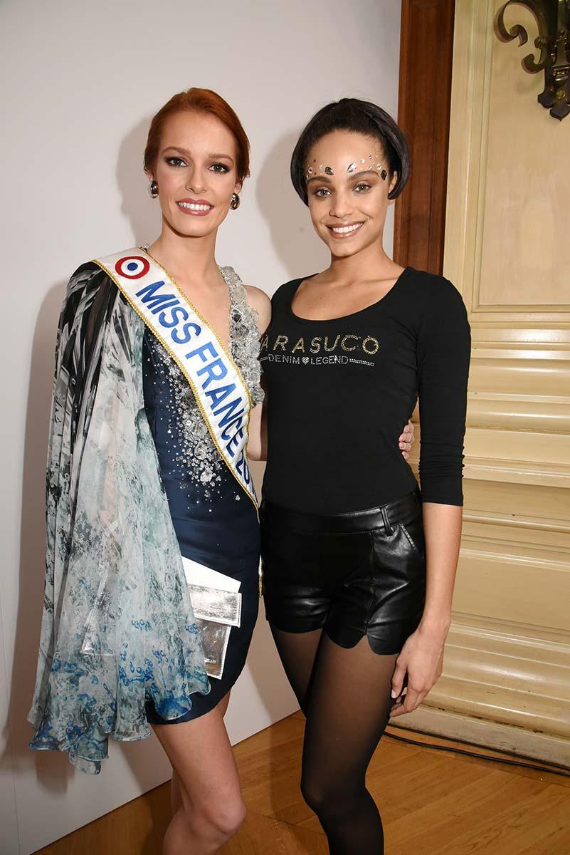 Ah des Miss France en veux tu en voila Maeva Coucke Miss 2018 et Alicia Aylies