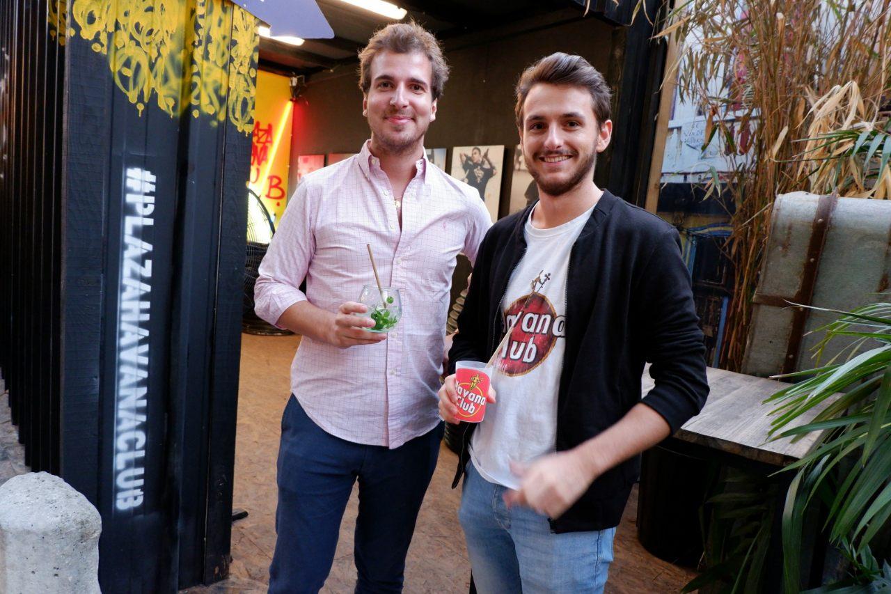Arnaud et Lambert en mode cocktail