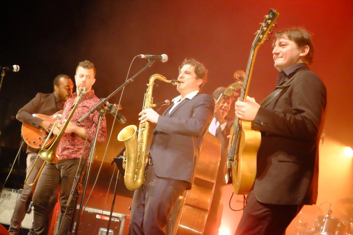 Samy Thiébault ouvre le festival avec son morceau Santéria bien connu des auditeurs de TSF