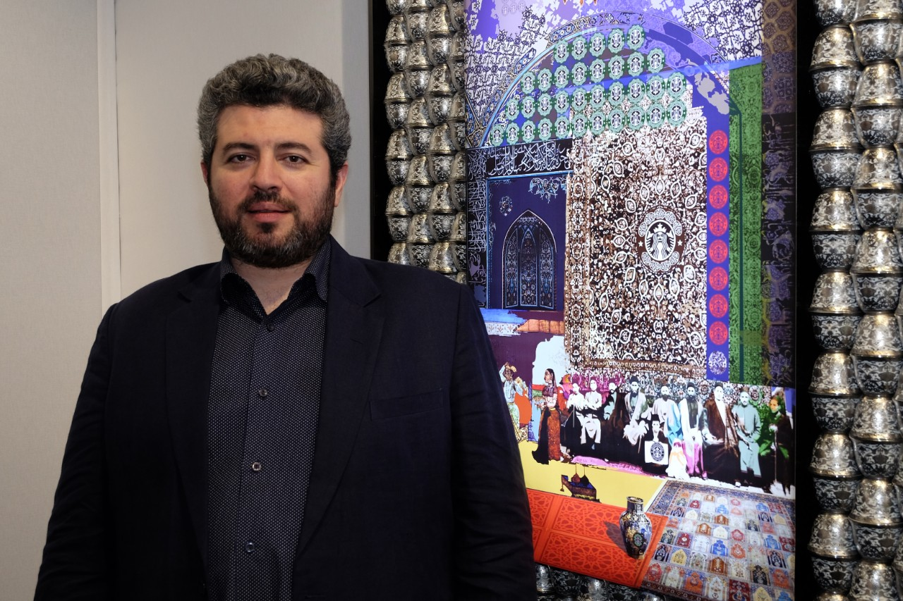 La galerie el Haffez a la Yia fair