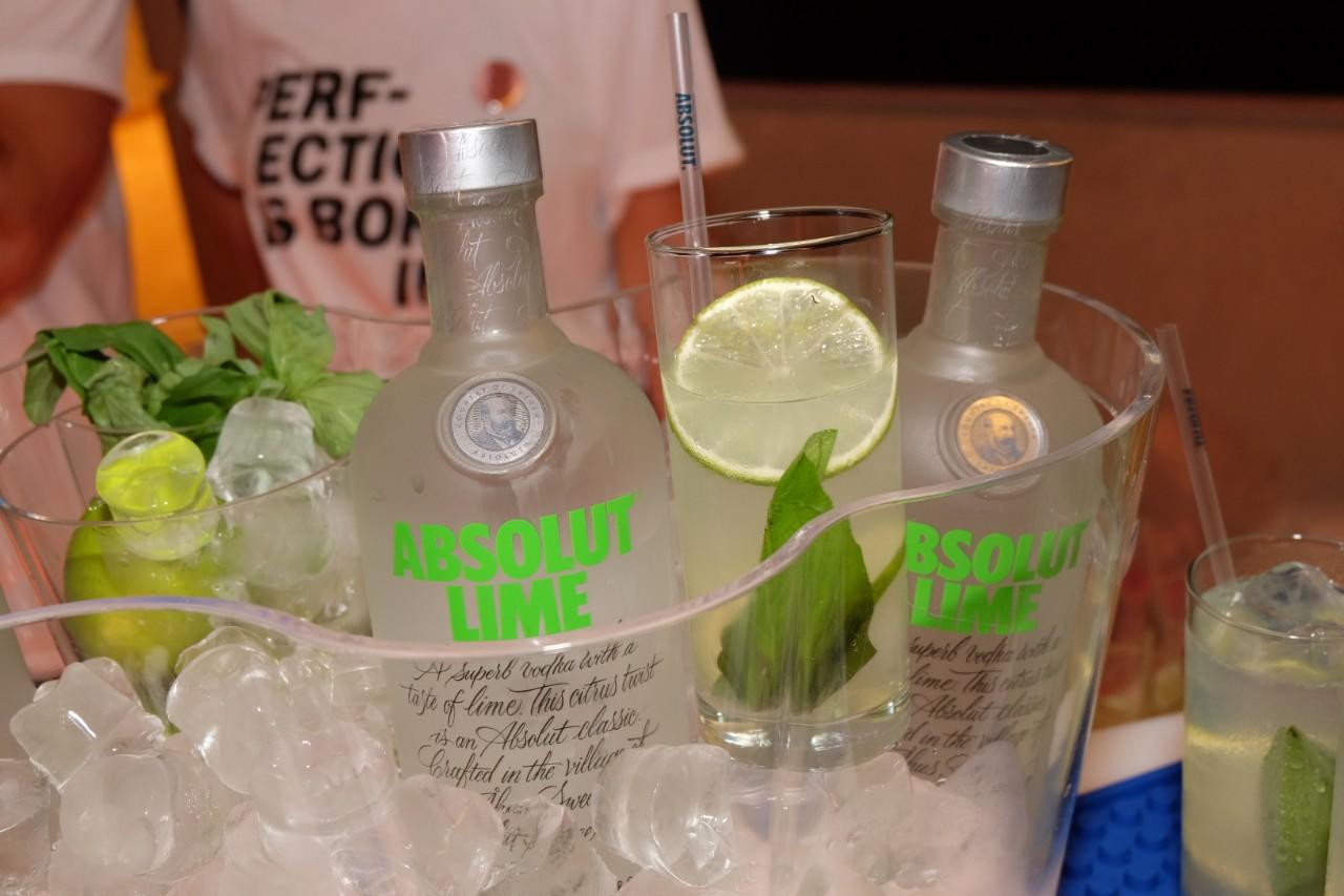 Quand la Vodka rencontre le citron vert cela donne Absolut Lime (avec moderation)