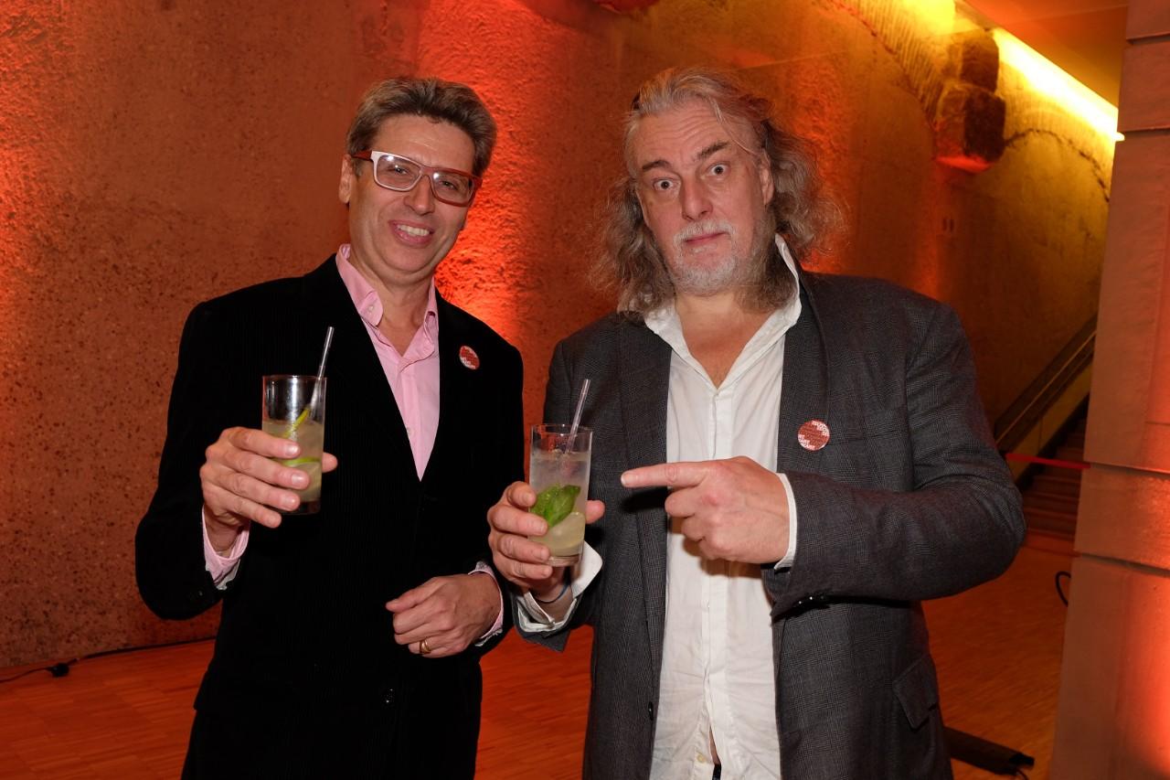 Yves de Roquemaurel et Dj Jean Croc