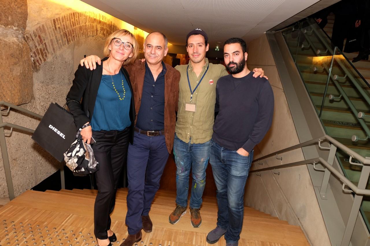 L artiste Arthur Simony et ses amis