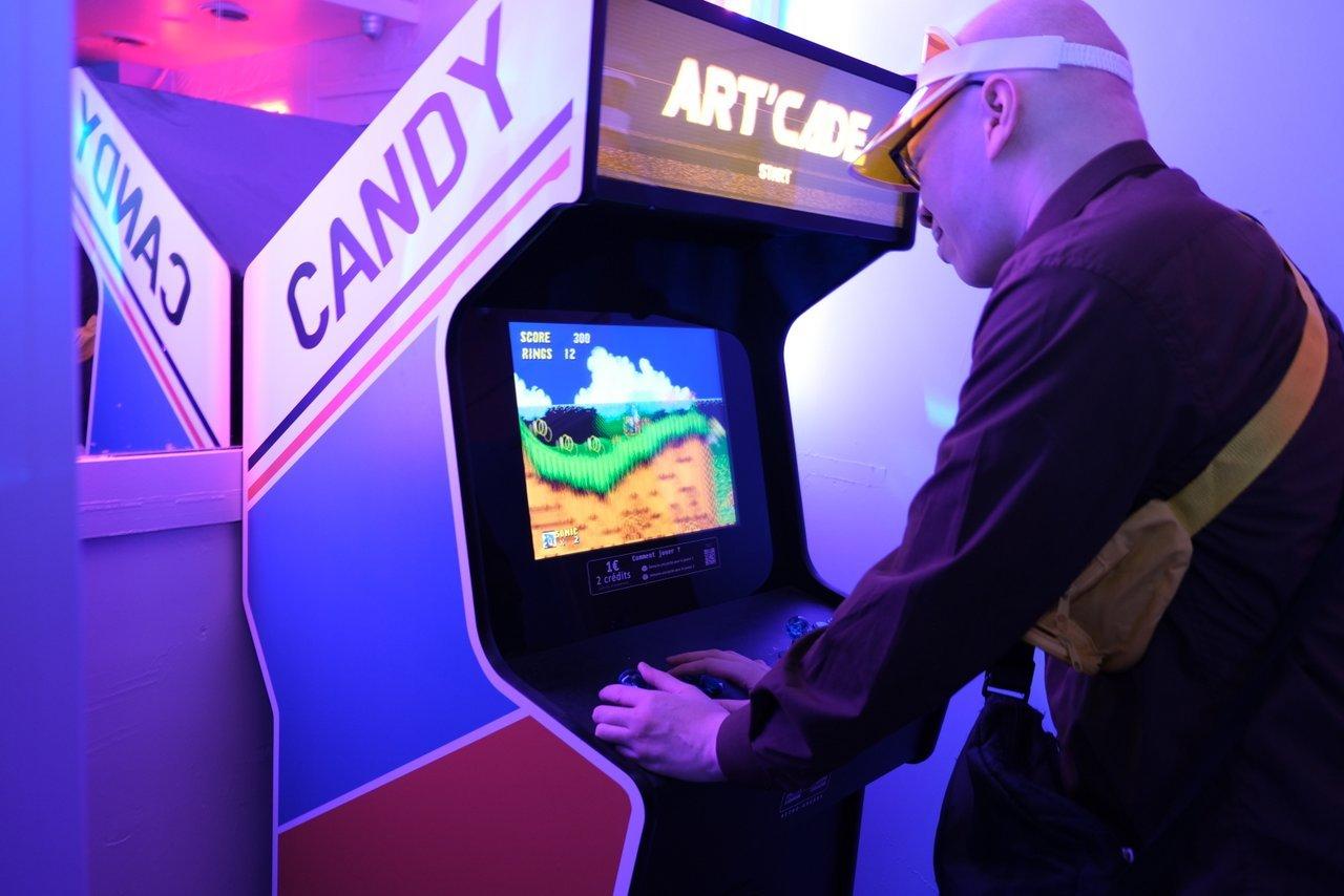 Certains se lâchent sur les jeux d arcade