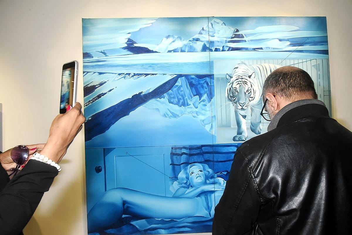Ah le «Tiger Dream» de Jacques Monory a beaucoup de likers