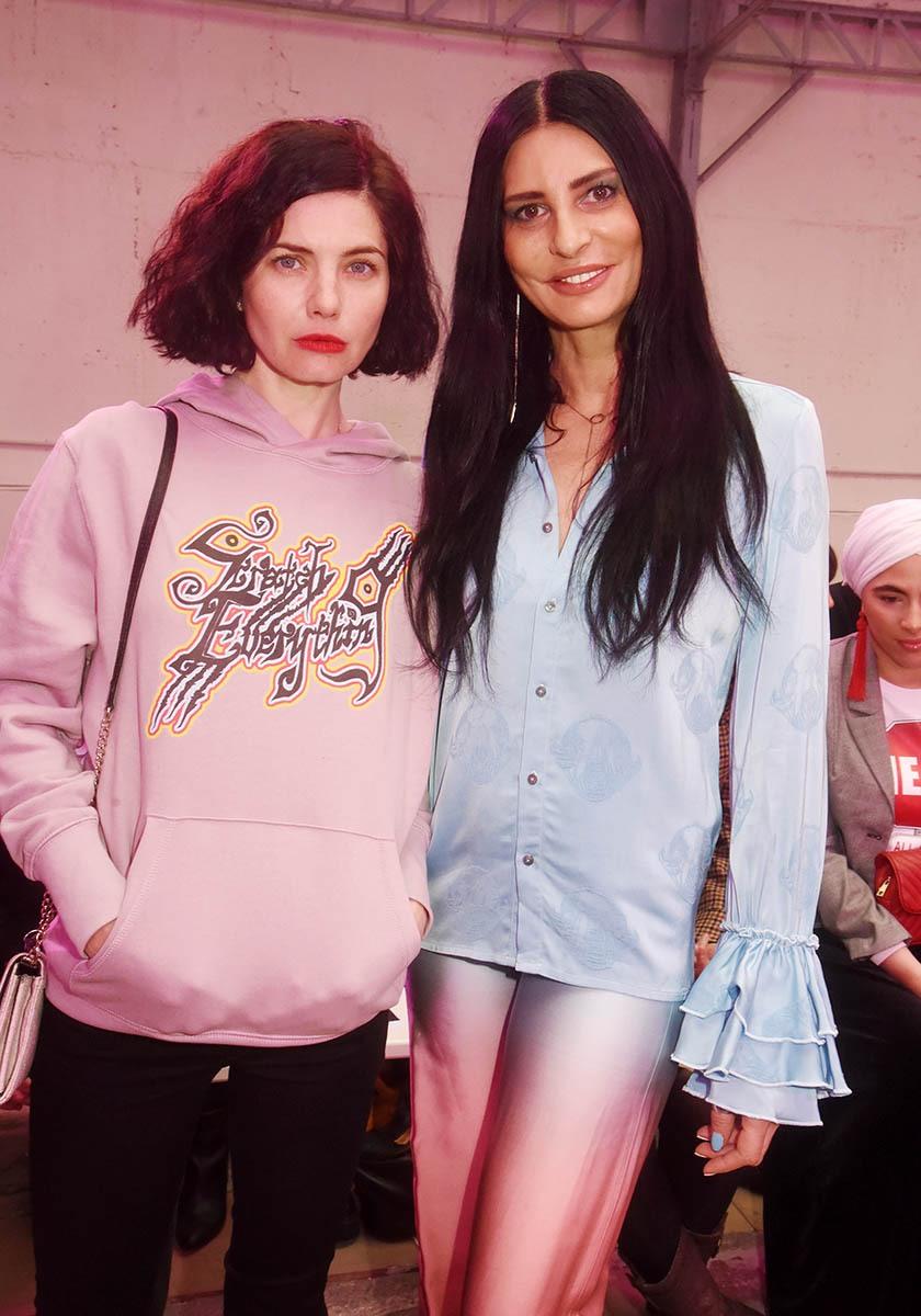 Delphine Chanéac et Sylvie Ortega où Les Prunes ne comptent pas pour les brunes ou le contraire.