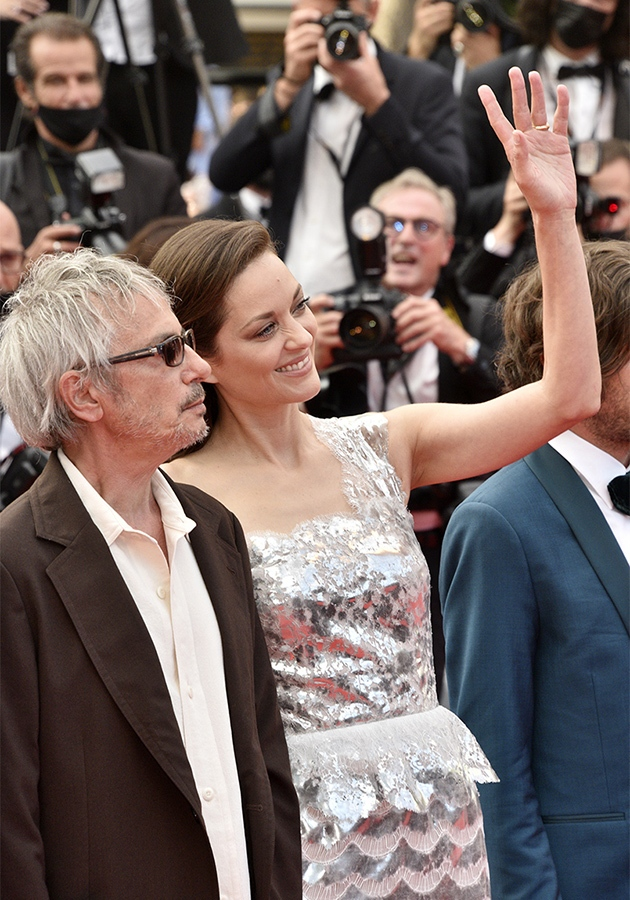 Cotillard : Avec Alex Les Oscars Cannes nous revoila