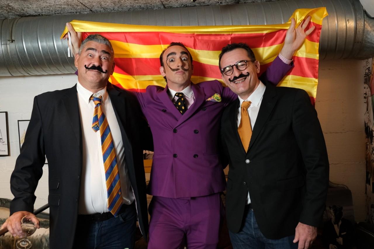 André, Nicolas et Stefan vous acceuille pur l'Apéro Catalan!