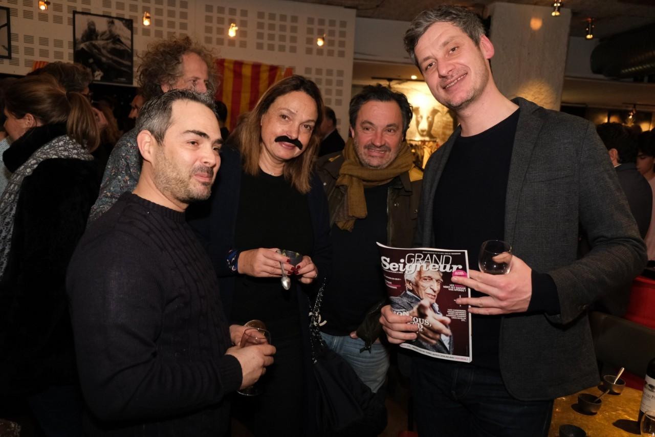 le second de Chez Etchebest,  Ysabel Castela, Yves Camdeborde et Thomas Le Gourrierec
