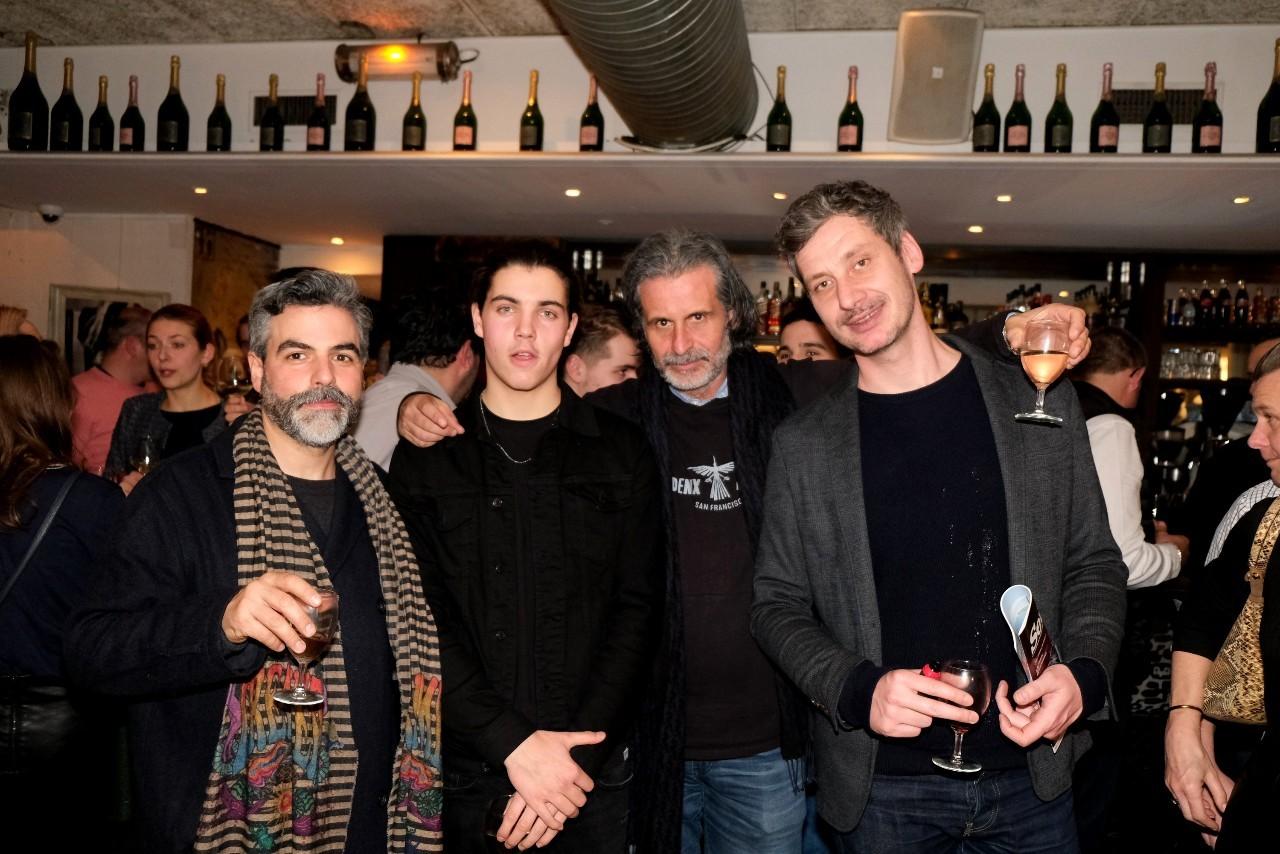 Max Malnuit et la famille Grand Seigneur,  Laurence Rémila, Theirry Chapuis et Thomas Le Gourrierec
