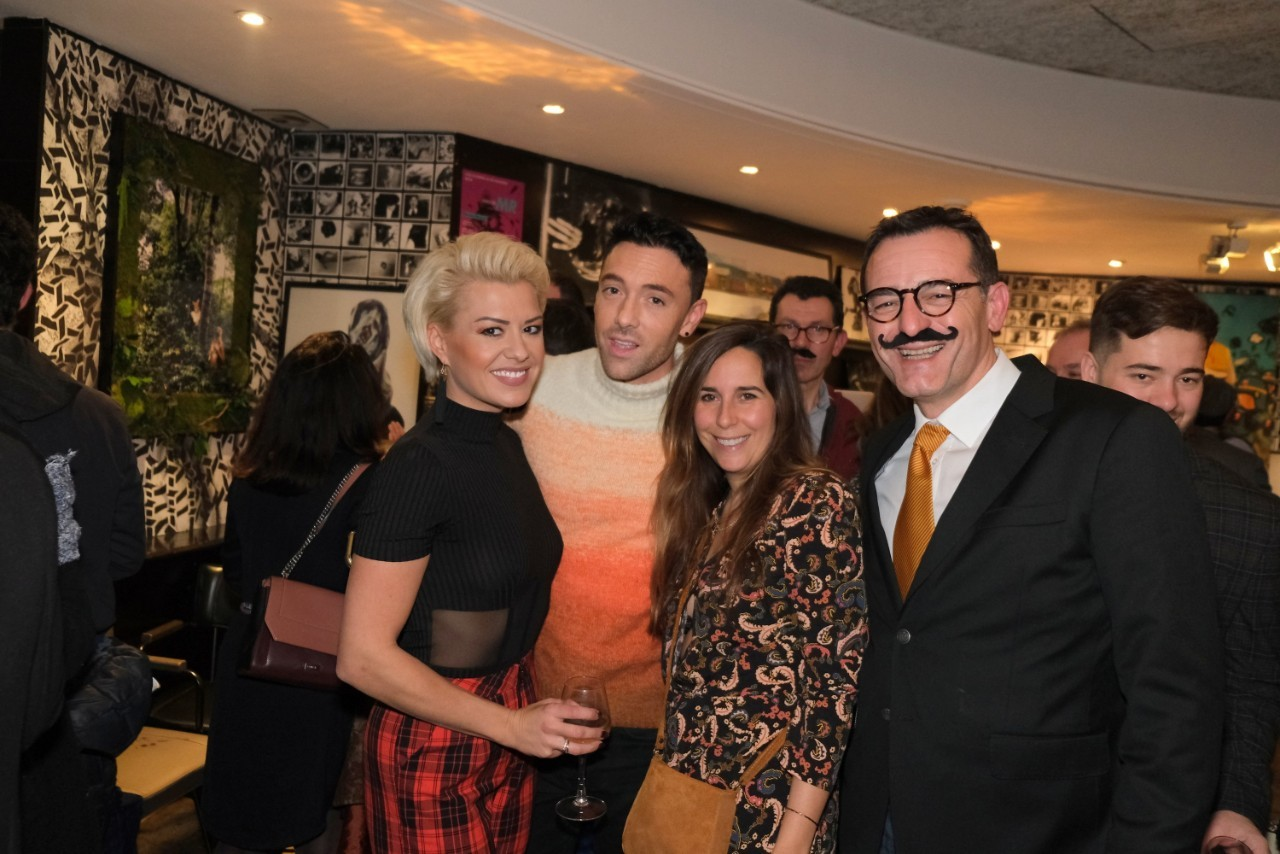 Stefan accueille Maxime Dereymez et Katrina Patchett